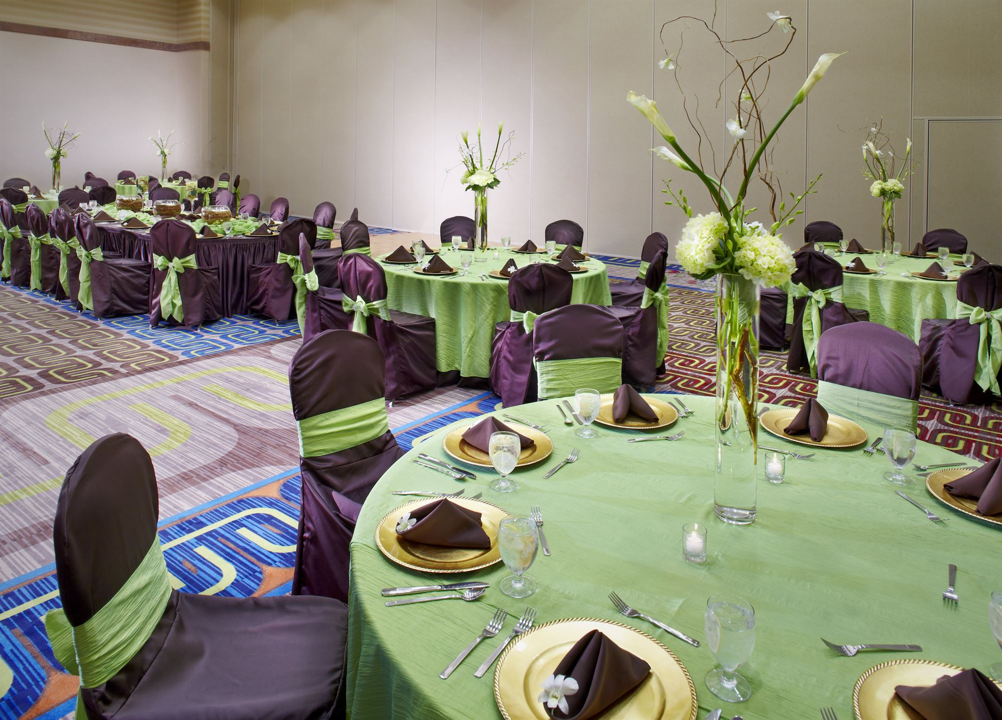 Meeting Decor at Texarkana Convention Center